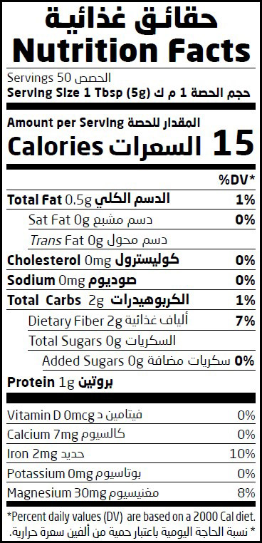 Nutritional Fact