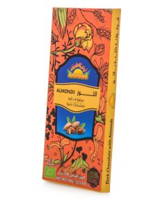 Natureland Almond Dark Chocolate 100g