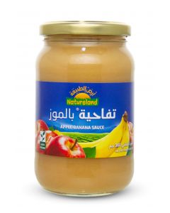 Natureland Apple Banana Sauce 360g