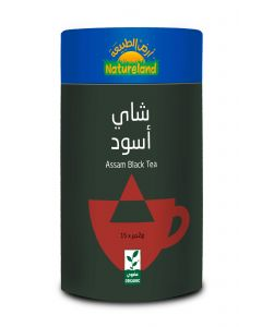 Natureland Assam Black Tea 15 Pyramid Bags