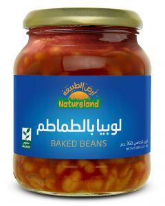 Natureland Baked Beans 360g