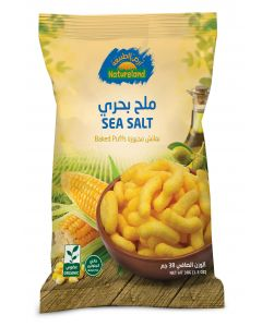 Natureland Baked Puffs - Sea Salt 38g