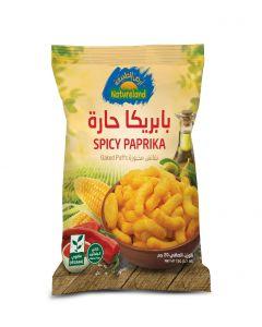 Natureland Baked Puffs - Spicy Paprika 20g