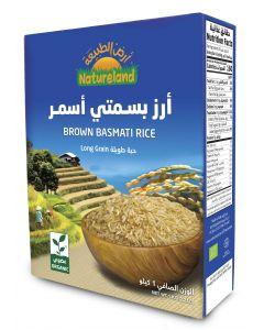 Natureland Brown Basmati Rice 1Kg