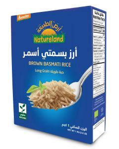 Natureland Demeter Brown Basmati Rice 1Kg