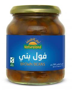 Natureland Brown Beans 360g