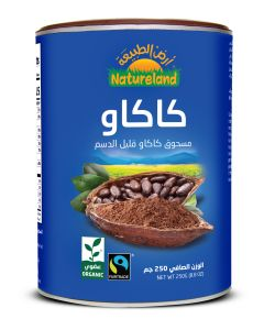Natureland Cacao Powder Low Fat 250g