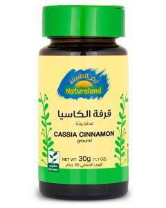 Natureland Cassia Cinnamon - Ground 30g