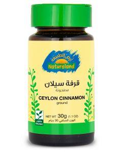 Natureland Ceylon Cinnamon - Ground 30g