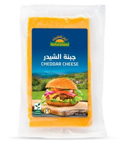 Natureland Cheddar Cheese 150g
