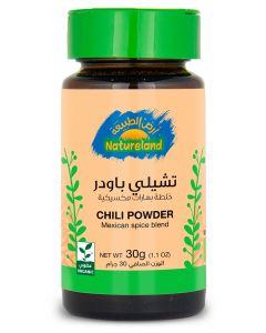 Natureland Chili Powder - Spice Blend 30g