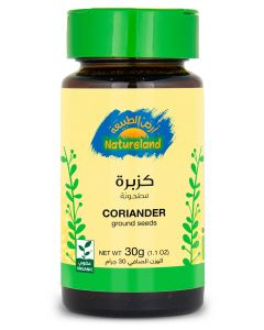 Natureland Coriander - Ground Seeds 30g