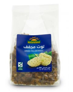 Natureland Dired Mulberries 250g