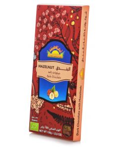 Natureland Hazelnut Dark Chocolate 100g