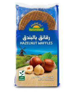 Natureland Hazelnut Waffles 175g