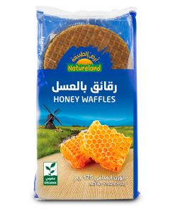 Natureland Honey Waffles 175g