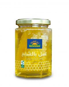 Natureland Honey With Comb 350g