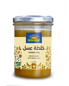 Natureland Honey Blend With Royal Jelly 250g