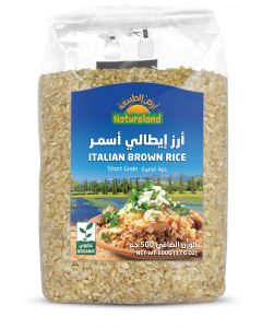 Natureland Italian Brown Rice 500g