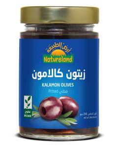 Natureland Kalamon Olives Pitted 280g
