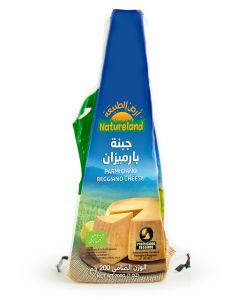 Natureland Parmigiano Cheese 200g