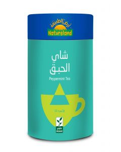 Natureland Peppermint Tea 15 Pyramid Bags