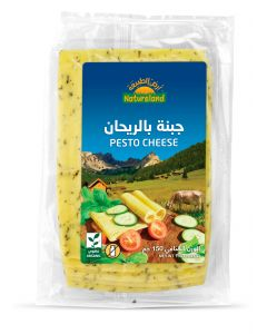 Natureland Pesto Cheese 150g