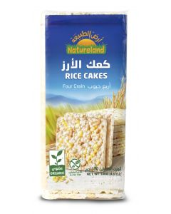 Natureland Rice Cakes - Four grain 130g