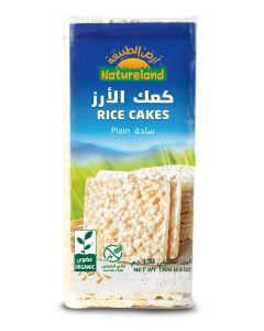 Natureland Rice Cakes - Plain 130g