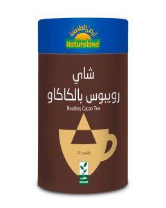 Natureland Rooibos Cacao Tea 15 Pyramid Bags