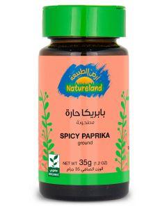 Natureland Spicy Paprika - Ground 35g