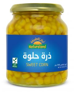 Natureland Sweet Corn 340g