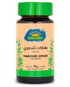 Natureland Tandoori Spices With Saffron 35g
