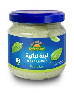Natureland Vegan Labneh - Basil 180g