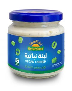 Natureland Vegan Labneh - Chives 180g