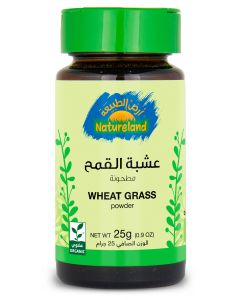 Natureland Wheat Grass - Powder 25g