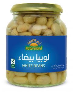 Natureland White Beans 360g