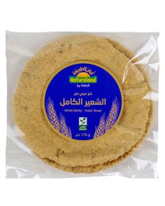 Natureland Whole Barley Arabic Bread 170g