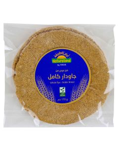 Natureland Whole Rye Arabic Bread 170g