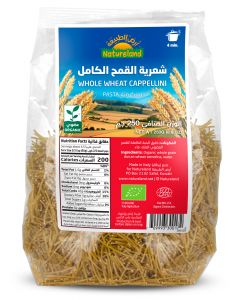 Natureland Whole Wheat Cappellini 250g