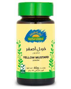Natureland Yellow Mustard - Powder 40g