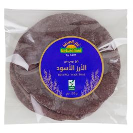 Natureland Black Rice Arabic Bread 170g