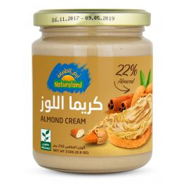 Natureland Almond Cream 250g