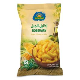 Natureland Baked Puffs - Rosemary 38g