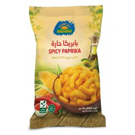 Natureland Baked Puffs - Spicy Paprika 38g