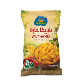 Natureland Baked Puffs - Spicy Paprika 20g