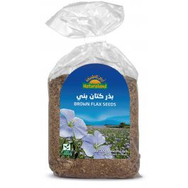 Natureland Brown Flax Seeds 500g