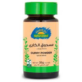 Natureland Curry Powder - Spice Blend35g