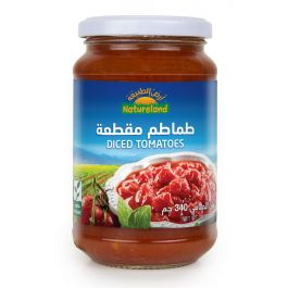 Natureland Diced Tomatoes 340g