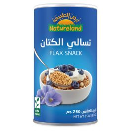 Natureland Flax Snack 250g